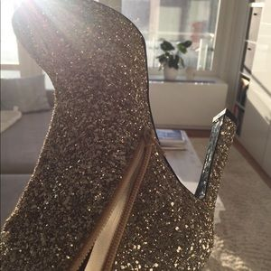 Shoes - Buffalo London gold glitter size 8 (EU 38) New